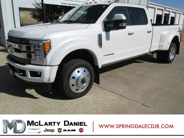 Pre-Owned 2018 Ford F-450SD Limited