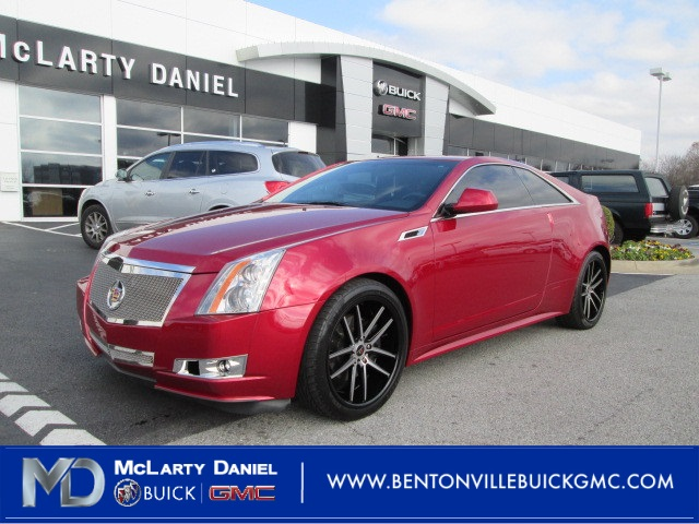 Pre Owned 2012 Cadillac Cts Base 2d Coupe In Bentonville C0153037