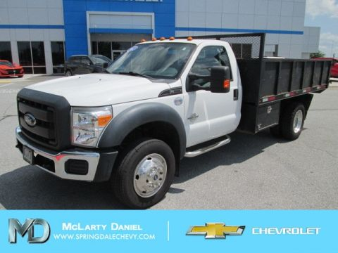 Pre-Owned 2012 Ford F-550SD XL