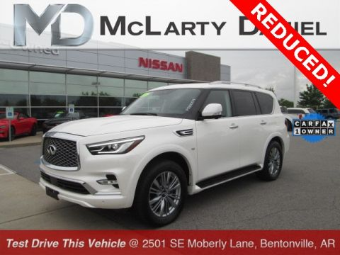 Pre-Owned 2018 INFINITI QX80 Base